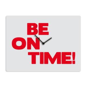 Wees op tijd