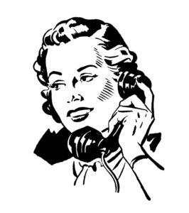 voice-over telefoon
